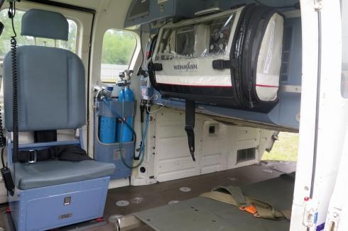 Вылеты вертолета санитарной авиации в Зауралье начнутся с августа